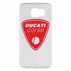 Чехол для Samsung S6 Ducati Corse