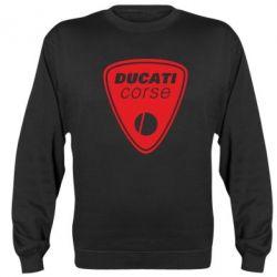 Реглан (свитшот) Ducati Corse - FatLine