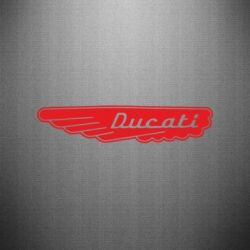 Наклейка Ducati Motors - FatLine