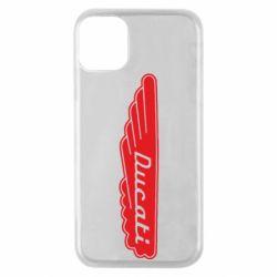 Чехол для iPhone 11 Pro Ducati Motors