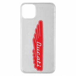 Чохол для iPhone 11 Pro Max Ducati Motors