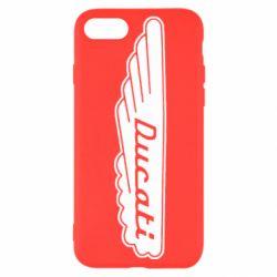 Чехол для iPhone 8 Ducati Motors
