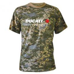 Камуфляжная футболка Ducati Perfomance