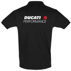 Футболка Поло Ducati Perfomance - FatLine