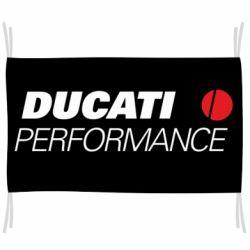Прапор Ducati Perfomance