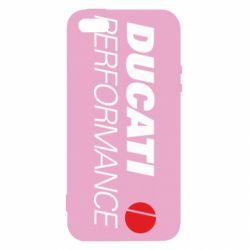 Чохол для iphone 5/5S/SE Ducati Perfomance
