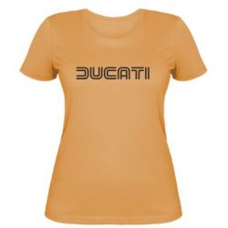 Женская футболка Ducati Vintage