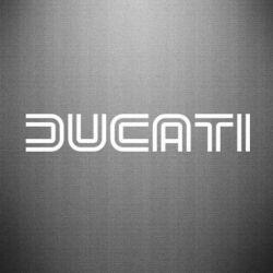 Наклейка Ducati Vintage - FatLine