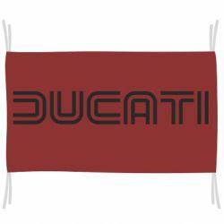 Флаг Ducati Vintage