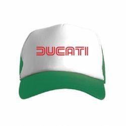 Детская кепка-тракер Ducati Vintage