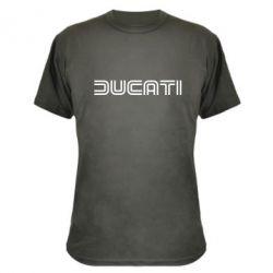 Камуфляжная футболка Ducati Vintage - FatLine