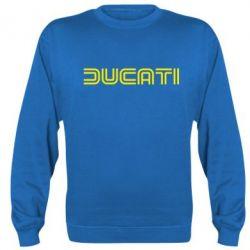 Реглан (свитшот) Ducati Vintage - FatLine