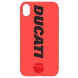 Чохол для iPhone XR Ducati
