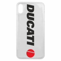 Чохол для iPhone Xs Max Ducati