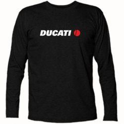 Футболка с длинным рукавом Ducati - FatLine