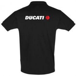 Футболка Поло Ducati - FatLine