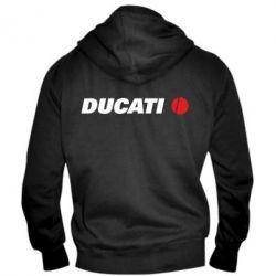 Мужская толстовка на молнии Ducati - FatLine