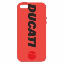 Чохол для iphone 5/5S/SE Ducati