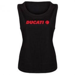 Женская майка Ducati - FatLine