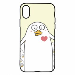 Чехол для iPhone X/Xs Ducklings - FatLine