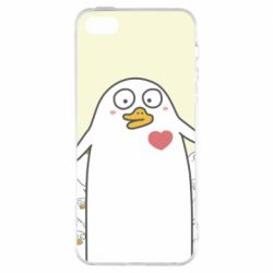Чехол для iPhone5/5S/SE Ducklings - FatLine