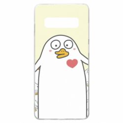 Чехол для Samsung S10+ Ducklings - FatLine