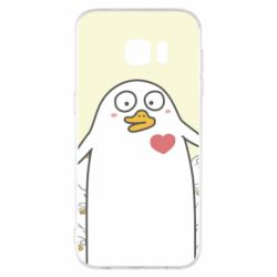 Чехол для Samsung S7 EDGE Ducklings - FatLine