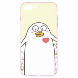 Чехол для iPhone 8 Plus Ducklings - FatLine