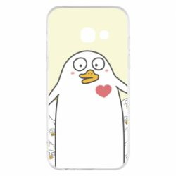 Чехол для Samsung A3 2017 Ducklings - FatLine