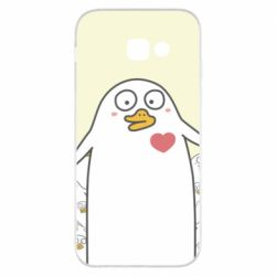 Чехол для Samsung A5 2017 Ducklings - FatLine