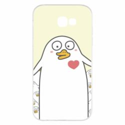Чехол для Samsung A7 2017 Ducklings - FatLine
