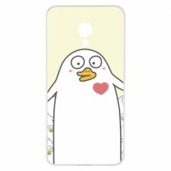 Чехол для Meizu M5 Ducklings - FatLine