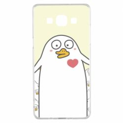 Чехол для Samsung A5 2015 Ducklings - FatLine