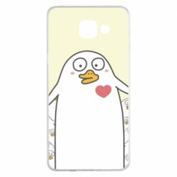 Чехол для Samsung A5 2016 Ducklings - FatLine