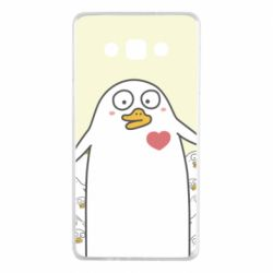 Чехол для Samsung A7 2015 Ducklings - FatLine