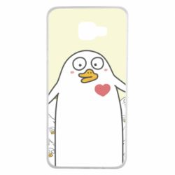 Чехол для Samsung A7 2016 Ducklings - FatLine