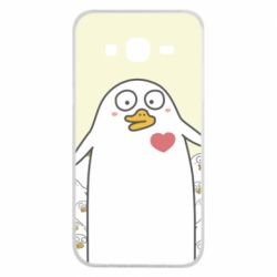Чехол для Samsung J5 2015 Ducklings - FatLine