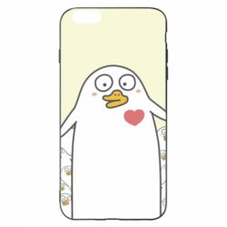 Чехол для iPhone 6 Plus/6S Plus Ducklings - FatLine