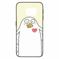 Чехол для Samsung S6 EDGE Ducklings - FatLine