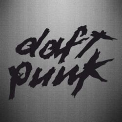 Наклейка Duft Punk - FatLine