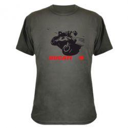 Камуфляжная футболка Dukati