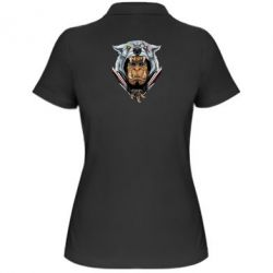 Жіноча футболка поло Durotan the leader