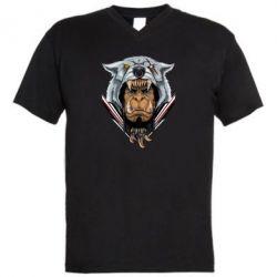 Чоловіча футболка з V-подібним вирізом Durotan the leader
