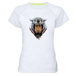 Жіноча спортивна футболка Durotan the leader