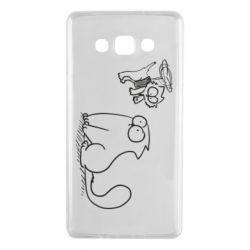Чохол для Samsung A7 2015 Два кота