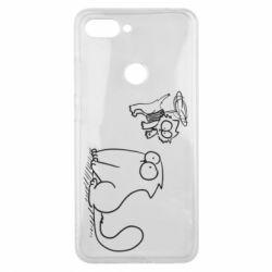 Чохол для Xiaomi Mi8 Lite Два кота