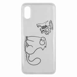 Чохол для Xiaomi Mi8 Pro Два кота