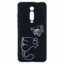 Чохол для Xiaomi Mi9T Два кота