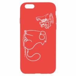 Чохол для iPhone 6/6S Два кота
