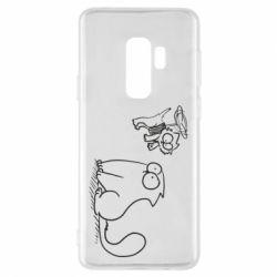 Чохол для Samsung S9+ Два кота